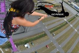 Gdańsk Atrakcja Bungee Bungee Jump