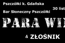 Pszczółki Wydarzenie Koncert PARA WINO & Złośnik